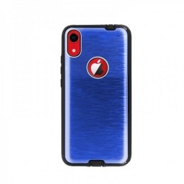 Metalica Rigida Azul Iphone XR Carcasa Metalica Rigida